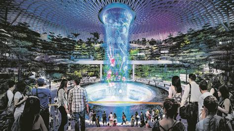 Changi's Jewel Shaping Up Well For Sparkling Start In 2019