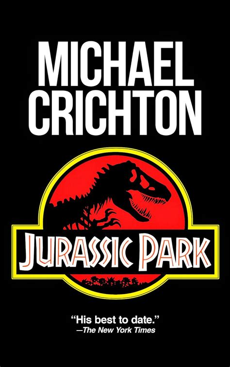 jurassic park cover book review jurassic park by michael crichton words are