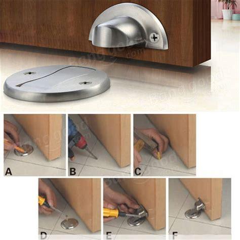 wall mounted door stops and zinc alloy magnetic door holder stopper doorstop wall