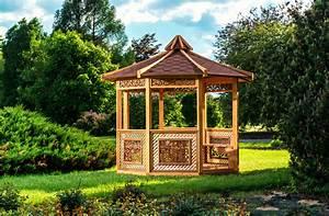 Pavillon Für Garten : tipps f r gartenlauben und pavillons aus holz ideen top ~ A.2002-acura-tl-radio.info Haus und Dekorationen