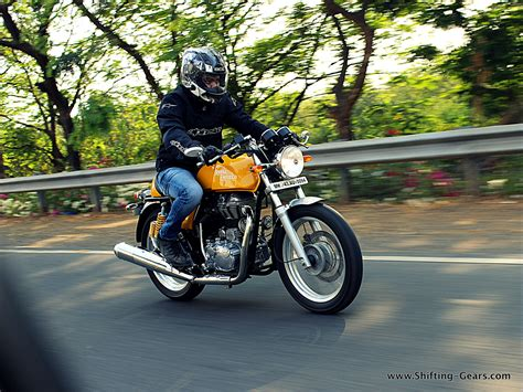 Review Royal Enfield Continental Gt by Royal Enfield Continental Gt Review Shifting Gears