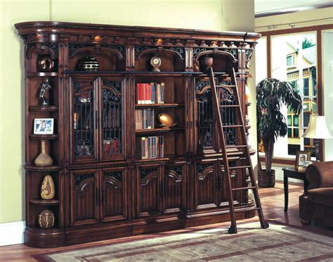 Library Bookcase With Glass Doors by Barcelona Executive Library Wall Glass Doors Bookcase W