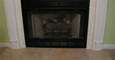 image of tile fireplace surround tile fireplace photos x1 quot of pearl tile surround