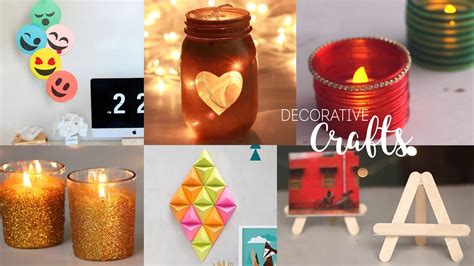 home decorative craft ideas diy room decor handcraft