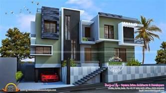 modern duplex house kerala home design and floor plans