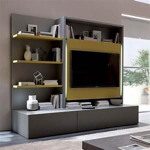 Farbe Für Holzmöbel : smart living l holzm bel f r das wohnzimmer mit 3 ~ Michelbontemps.com Haus und Dekorationen