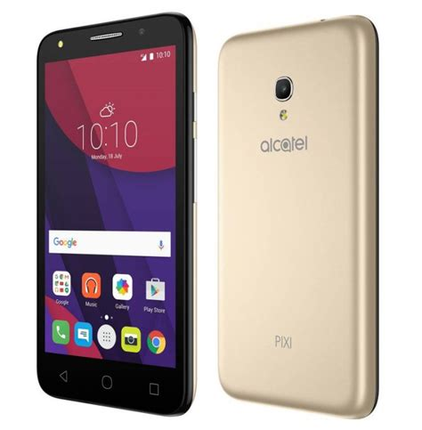 alcatel onetouch pixi 4 5 launched in india priced at rs 4 999 maktechblog