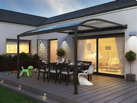 überdachung terrasse alu pergola pour terrasse en aluminium sib