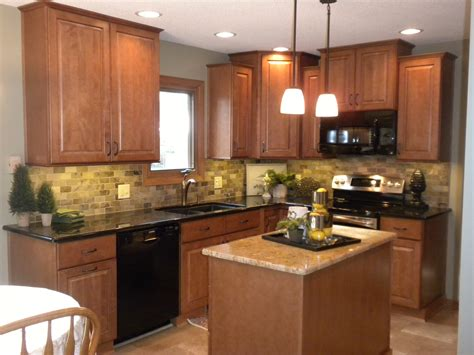 wood island tops kitchens kitchens best granite countertops for oak cabinets trends