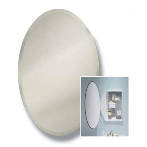 Broan Oval Recessed Medicine Cabinet by Medicine Cabinets Oval Frameless Bathroom Medicine