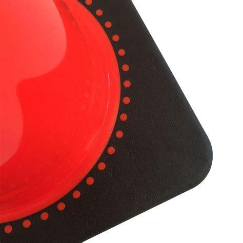 Leitkegel 750 mm orange PVC   tagesleuchtend