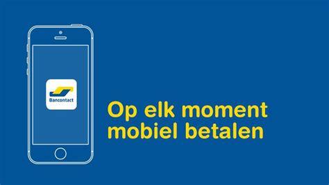 bancontact app apps smartphone tablet