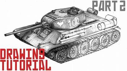 Tank Draw Drawing 34 Tutorial