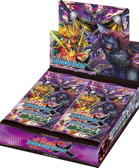fc buddyfight evolution mutation booster box