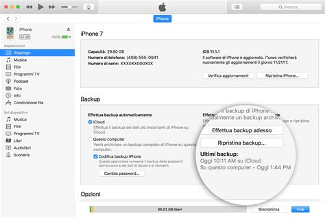 backing up iphone to itunes come eseguire il backup tuo iphone e ipod touch 1522
