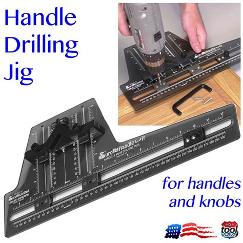 kitchen cabinet hardware jig handle it handle and knob drilling tool jig 5460