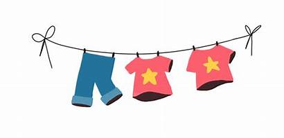 Washing Line Clipart Clothesline Clothespin Pluspng Transparent