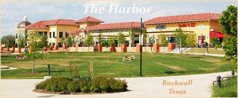 harbor  amazing waterfront destination rockwall