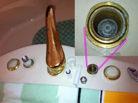 Stuck Faucet by Moen Bathtub Faucet Stuck Open Plumbing Diy Home