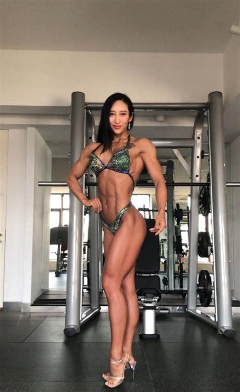 Chinese woman wins female bodybuilding championship ...