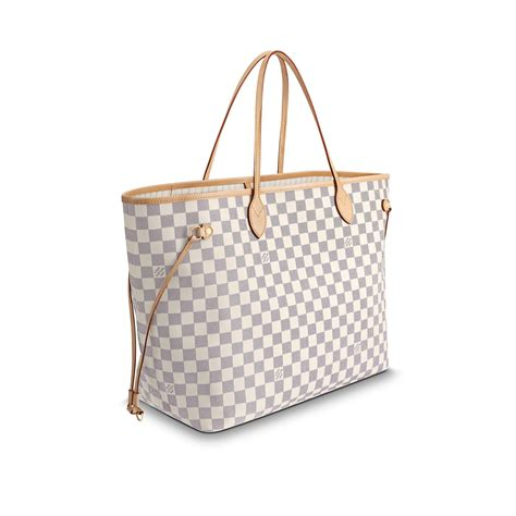 neverfull gm damier azur canvas louis vuitton