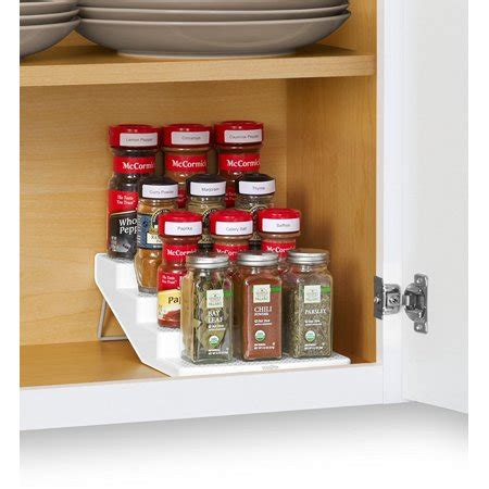 4 Tier Spice Rack by Youcopia Spicesteps 4 Tier Cabinet Spice Rack Organizer