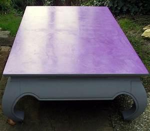 Table En Béton Ciré : table basse plateau en b ton cir violet photo de b ton ~ Premium-room.com Idées de Décoration