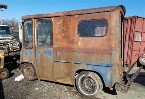 1963 Willys Jeep FJ3 Fleetvan Rare RHD Mail Truck Step Van