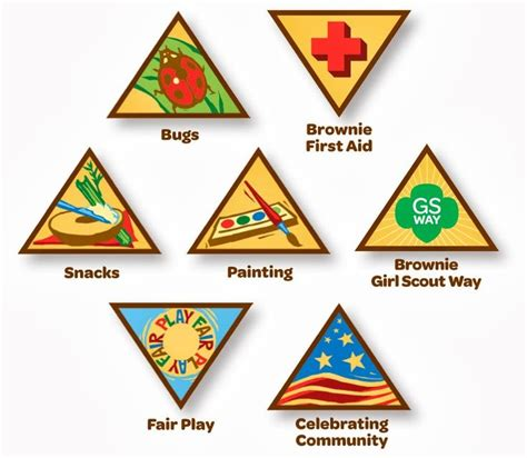 Print Your Own Badge Buddies Getting Started 25 Best Ideas About Brownie Badges On