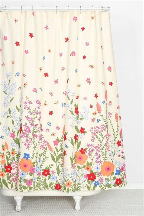 plum bow garden shower curtain