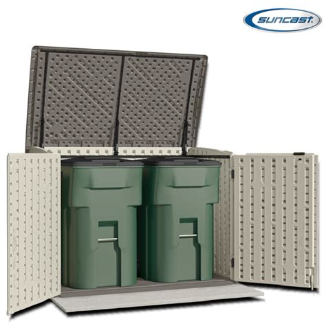 Suncast Horizontal Storage Shed Assembly by Suncast Bms4700 Kensington 8 Horizontal Shed 4x6