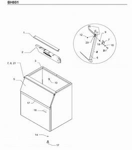 Scotsman Bh801 Bin Parts Diagram