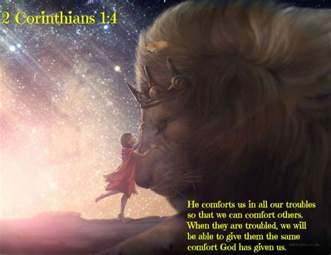 god comforts us 2 corinthians 1 4 he comforts us in all our troubles so