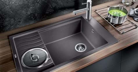 slate kitchen sink slate grey sink adds an touch to any kitchen 2306