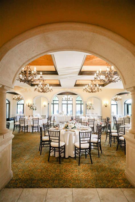 Tampa Wedding Venue Avila Golf & Country Club Indoor