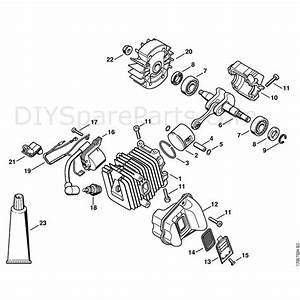 Stihl 019 T Chainsaw  019t  Parts Diagram  Cylinder  Ignition