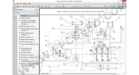 380 Tv Wiring Schematic by Skid Steer Loader Alpha Sr130 Sr150 Sr175 Sv185