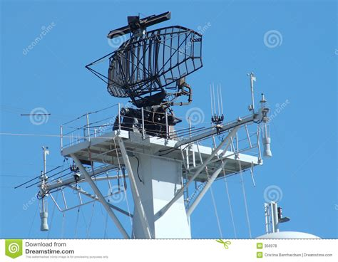 Boat Radar Terms by Ship Radar Stock Photo Image Of Radar Navigate Antenna
