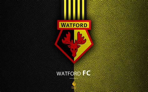 Download Wallpapers Watford Fc, 4k, English Football Club