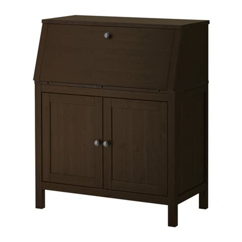 secretary desk with hutch ikea hemnes secretary black brown ikea