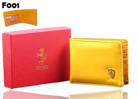 ferrari leather wallet  men price  pakistan