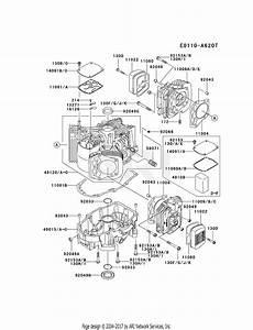 Kawasaki Fh641v Crankcase