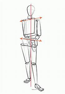 Balance And The Contrapposto Stance Diagram Image