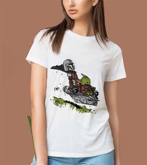 Top The Mandalorian Vault Mando And Baby Yoda shirt
