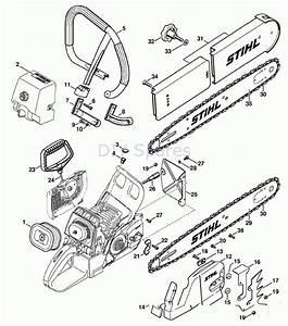 Stihl Ms 460 Parts Diagram