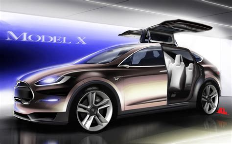 Tesla Model X Wallpaper