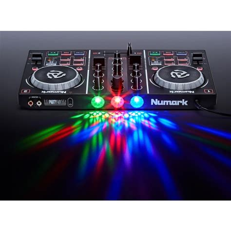 Best Dj Mix Numark Mix Dj Controller With Built In Lightshow