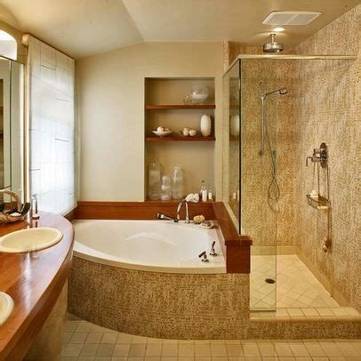 Small Bathroom Designs With Tub by Corner Bathtub Design Ideas Pictures Remodel And Decor