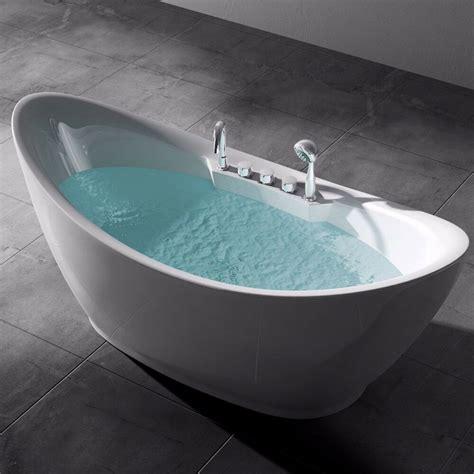 badewanne armatur freistehend freistehende badewanne wanne standbadewanne mit armatur 180 x 80 vicenza603 ebay