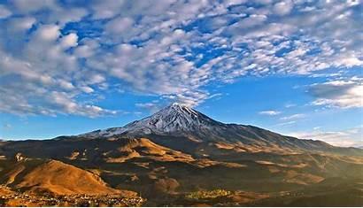 Damavand Mountain Tour Iran Mount Peak Volcano
